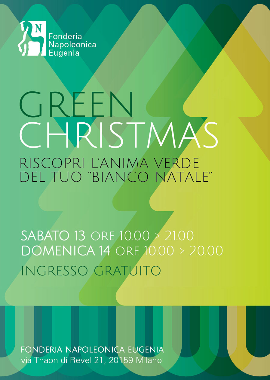 scarica flyer Green Christmas 2014