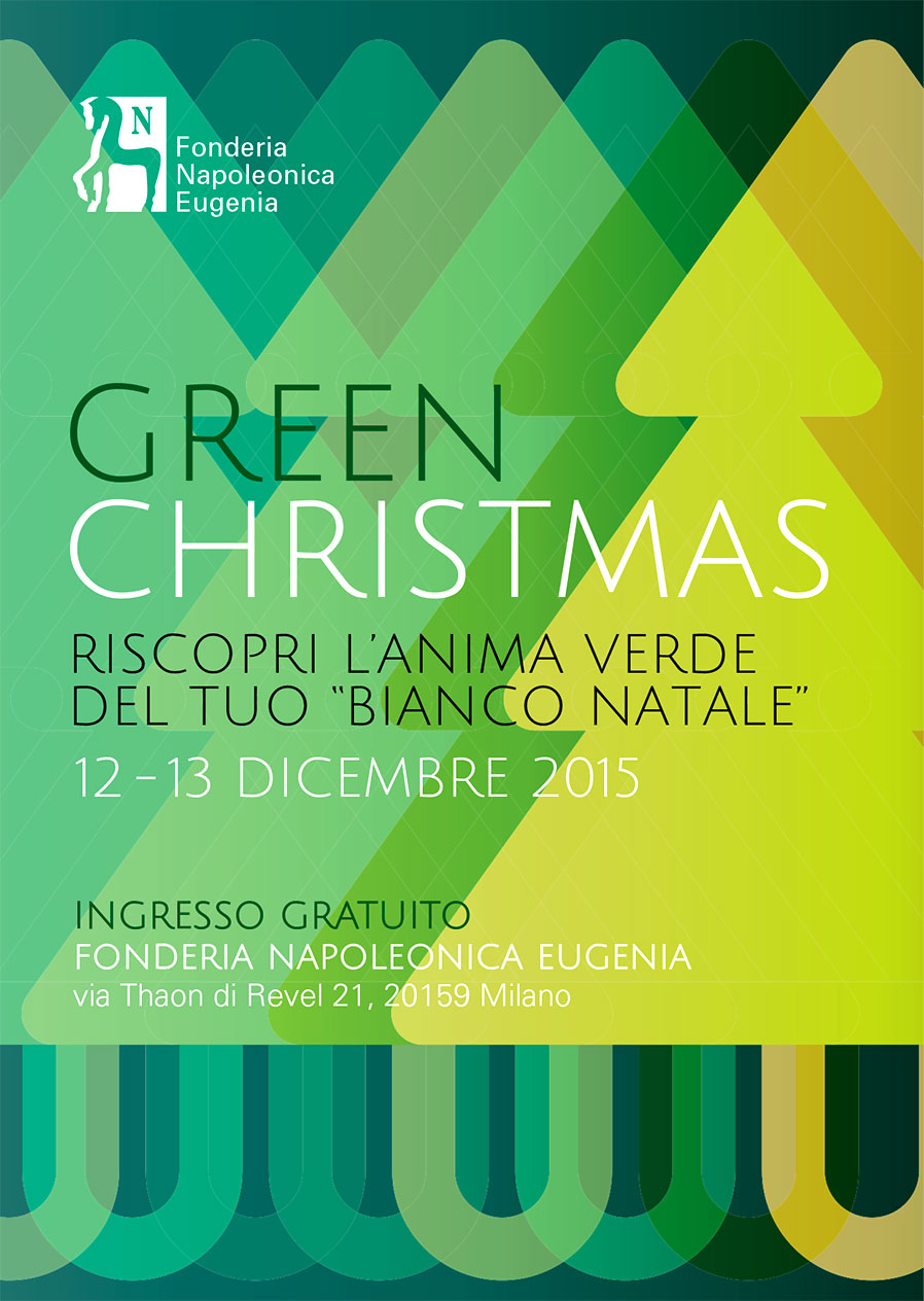 cartolina Green Christmas 2015